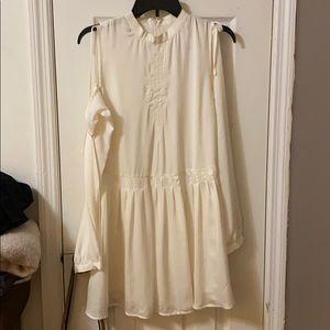 Avec Les Filles off white dress